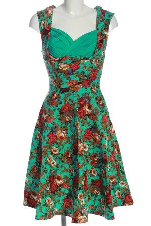 Lindy Bop Trägerkleid Blumenmuster Casual-Look