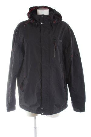 Linea Paimeao Sportswear Regenponcho schwarz Casual-Look