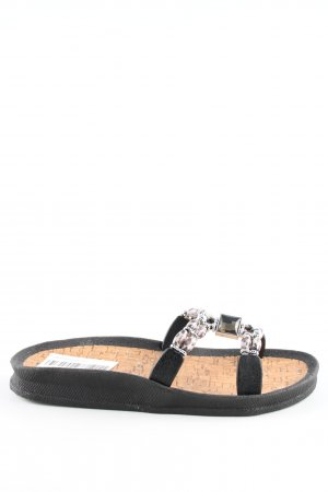 Linea Scarpa Beach Sandals black-nude casual look