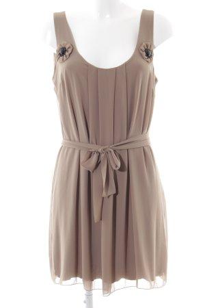 Linea Tesini Abendkleid braun Elegant