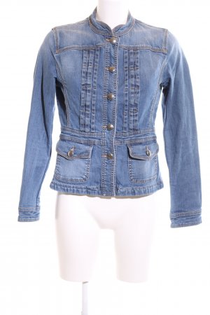 Linea Tesini Jeansjacke blau Business-Look