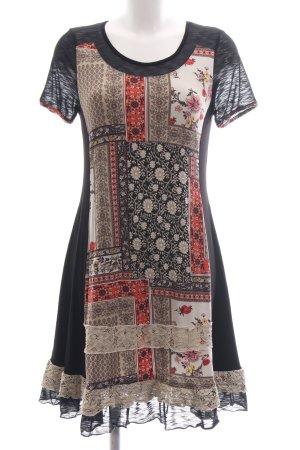Linea Tesini Jerseykleid Blumenmuster Casual-Look