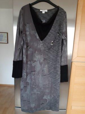 Linea Tesini Vestido elástico multicolor tejido mezclado