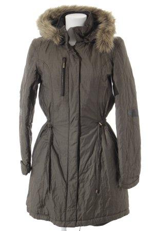 Linea Tesini Winterjacke graugrün Casual-Look