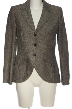 Linea Tesini Blazer en laine brun style d'affaires