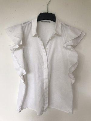 edc by Esprit Lniana bluzka biały