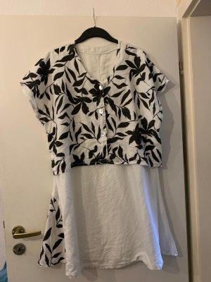 Linen Sommer Kleid 48/50