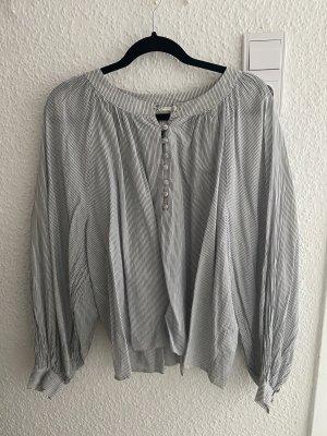 Linierte Bluse