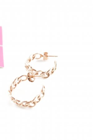 Silver Earrings gold-colored elegant