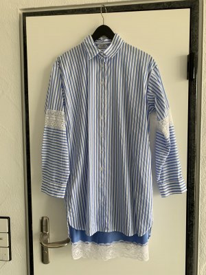 LIO•JO Hemdblusenkleid mit  Satinunterrock mit Spitze