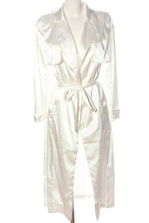 Lioness Manteau long blanc style mouillé