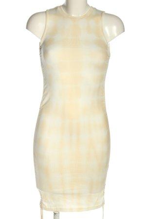 Lioness Vestido de tubo crema degradado de color look casual