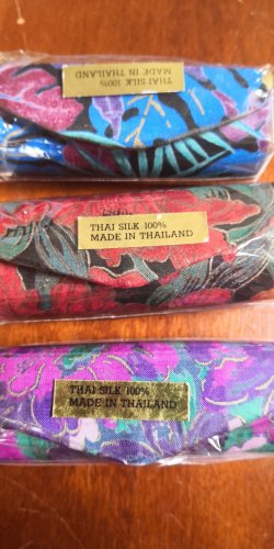Lippenstiftetui Thai Seide