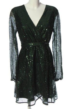 Lipsy Vestido de noche verde elegante