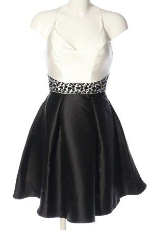 Lipsy Abendkleid schwarz-weiß Elegant