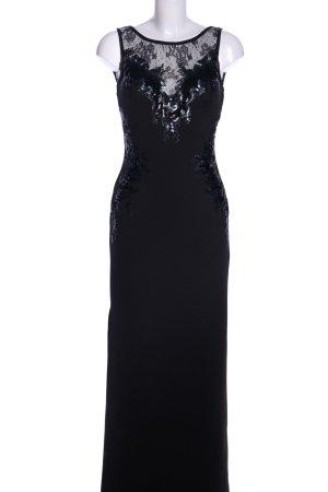 Lipsy Vestido de noche negro elegante