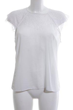 Lipsy ärmellose Bluse weiß Elegant