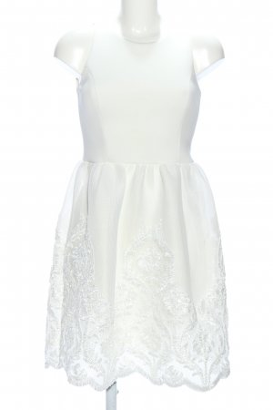Lipsy Brautkleid weiß Blumenmuster Elegant