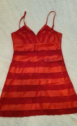 Lipsy Cocktailkleid Größe 12, Rot Kleid