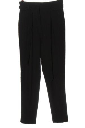 Lipsy Pantalon taille haute noir style décontracté