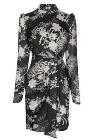 Lipsy Isobel Print Drape Dress