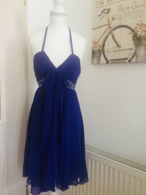 Lipsy Chiffon Dress blue-dark blue