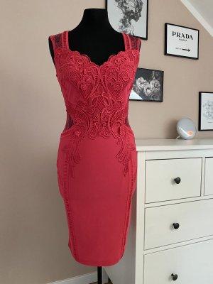 Lipsy Kleid S 38 neu mit Etikett Beere pink