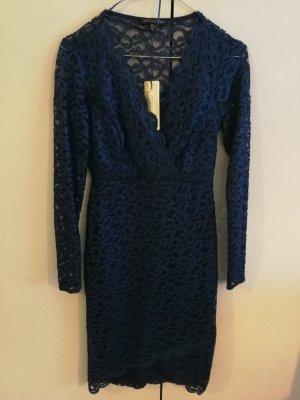 Lipsy Lace Dress blue