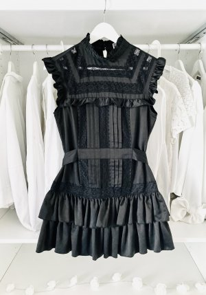 lipsy london Robe en dentelle noir