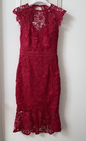 Lipsy Cocktail Dress raspberry-red