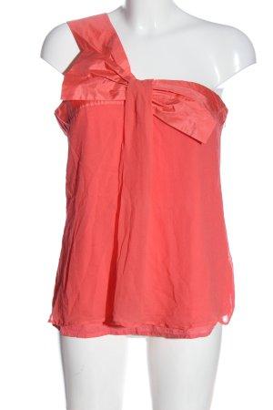 lipsy london Top de un solo hombro rosa elegante