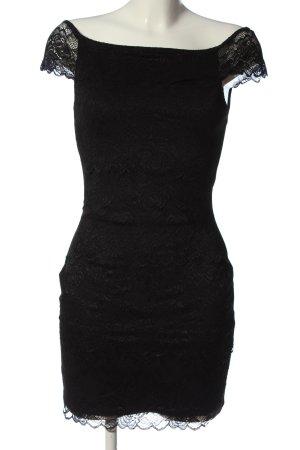lipsy london Spitzenkleid schwarz Elegant