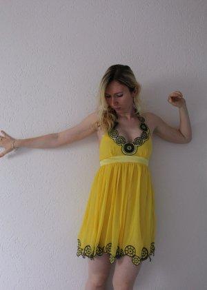 Lipsy Neckholder Kleid S 36