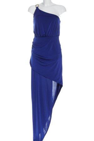 Lipsy Vestido de un hombro azul elegante