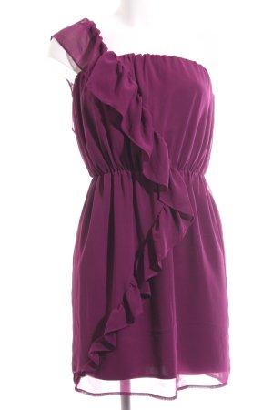 Lipsy One-Shoulder-Kleid pink Casual-Look