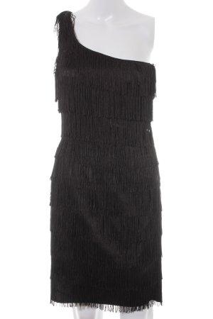 Lipsy One-Shoulder-Kleid schwarz Brit-Look