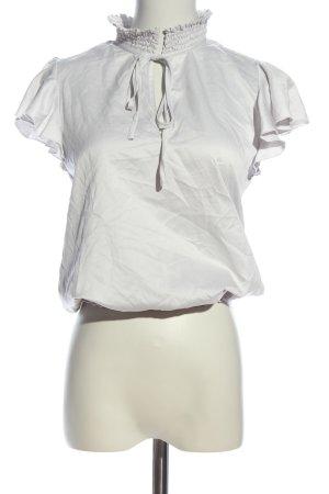 Lipsy Rüschen-Bluse weiß Casual-Look