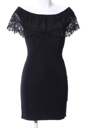 Lipsy Off-The-Shoulder Dress black elegant