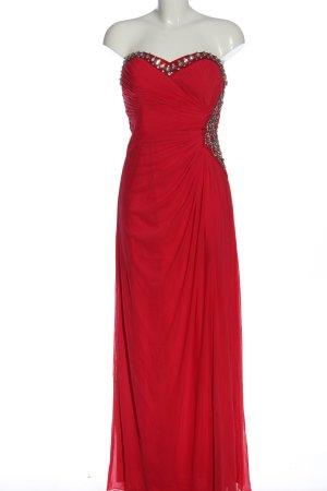 Lipsy schulterfreies Kleid rot Elegant