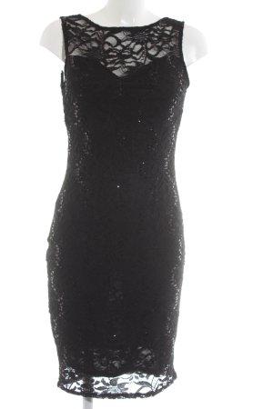 Lipsy Spitzenkleid schwarz Party-Look