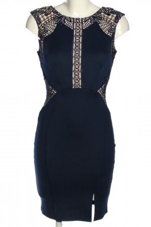 Lipsy Stretch jurk blauw-room elegant