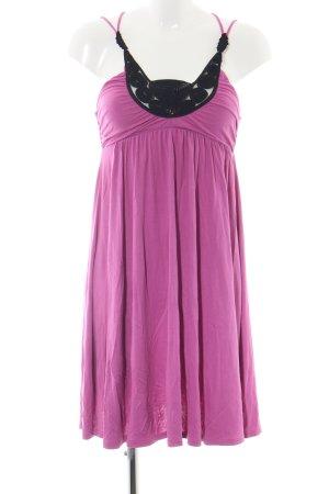 Lipsy Stretchkleid pink-schwarz Mustermix extravaganter Stil