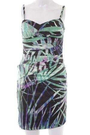 Lipsy Trägerkleid abstraktes Muster extravaganter Stil