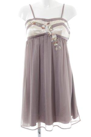 Lipsy Trägerkleid blasslila-creme extravaganter Stil