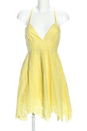 Lipsy Robe à bretelles jaune primevère style décontracté