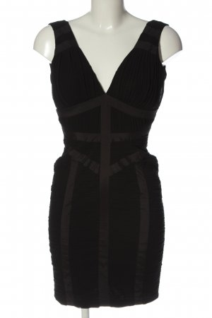 Lipsy Pinafore dress black-brown striped pattern casual look