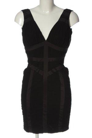 Lipsy Trägerkleid schwarz-braun Streifenmuster Casual-Look