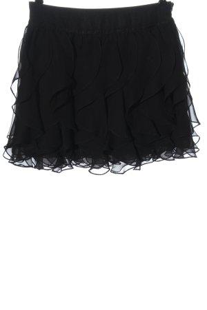 Lipsy Flounce Skirt black elegant