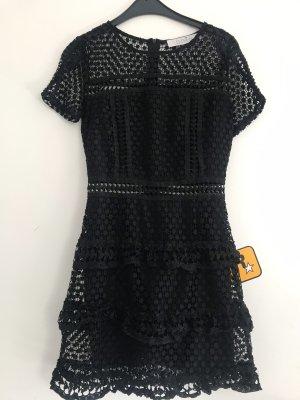 Asos Kanten jurk zwart