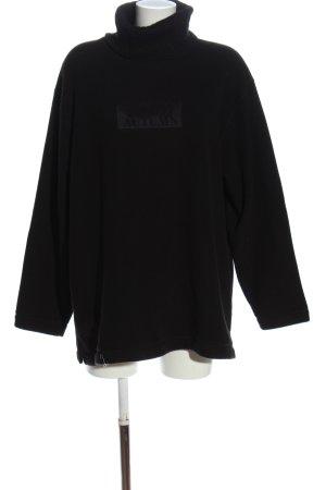 Lisa Campione Polarowy sweter czarny W stylu casual
